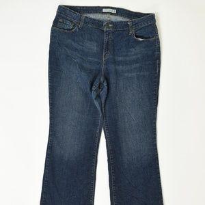 Levi's Plus 18W Blue  Boot Cut 580 Cotton Solid